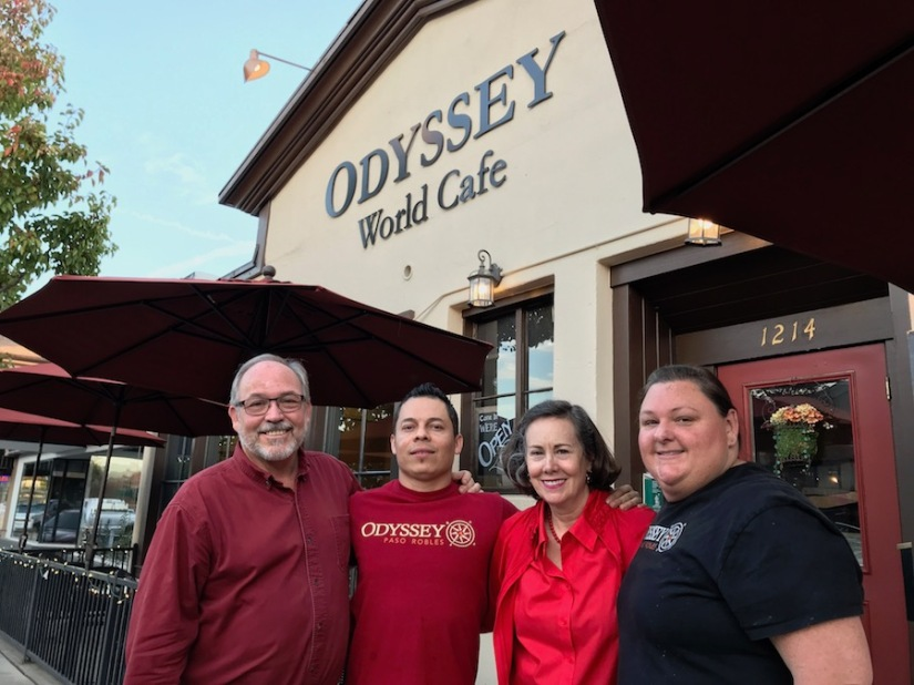 Odyssey World Cafe, Paso Robles