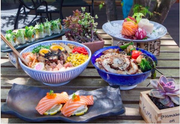 Kuma Bowl, Los Osos, ramen, sushi